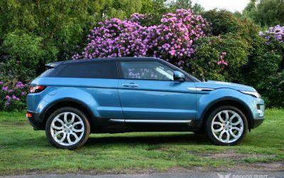 Range Rover Evoque Gallery & Stats