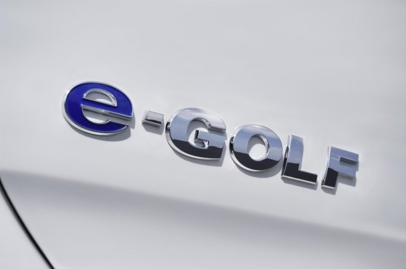 Volkswagen e-Golf Rear Badge