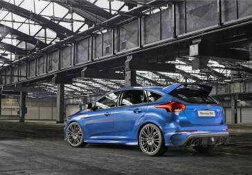 2016 Ford Focus RS Rear