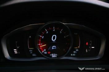 Volvo V60 Polestar Estate Instrument Display