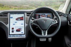 Tesla Model S85 Interior