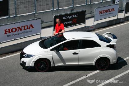 Honda Civic Type R With Matt Neal