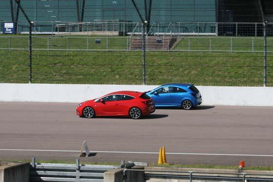 Vauxhall Astra VXR versus Corsa VXR