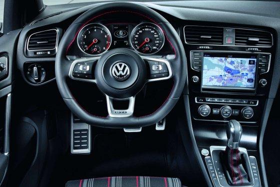 Volkswagen Golf Mk7 Dashboard
