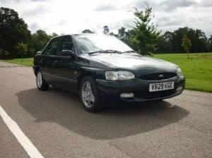 1996 Ford escort SI 16v panther black