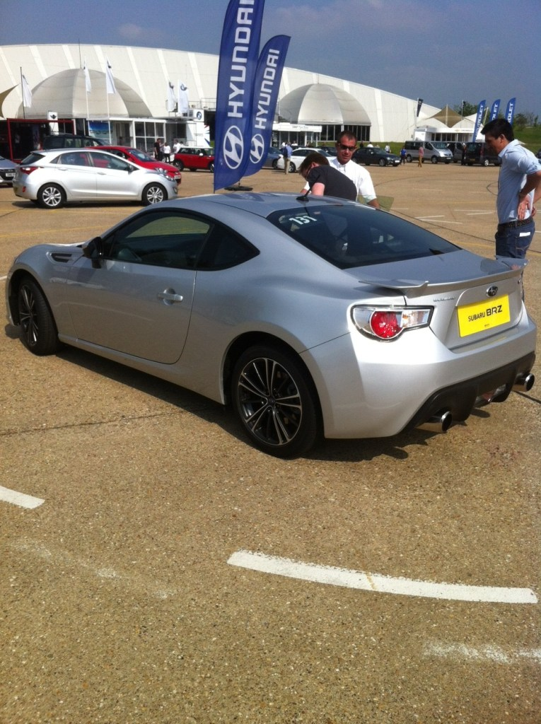 Subaru BRZ at the SMMT Test Day 2012