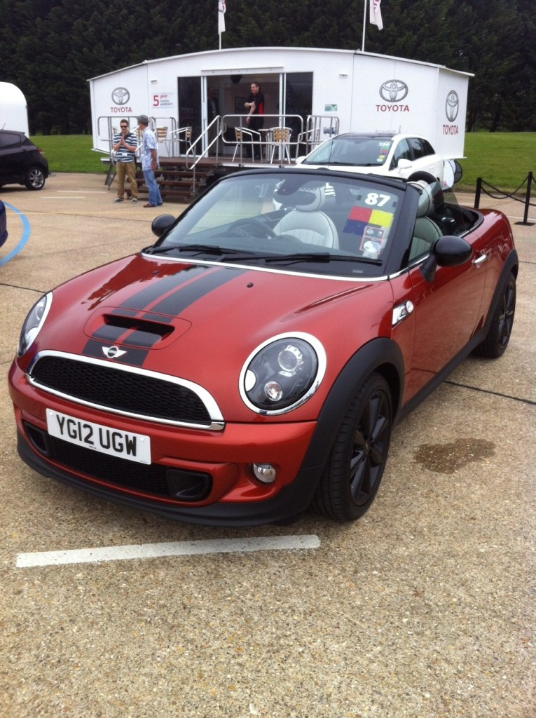 Mini Cooper S Roadster at the SMMT Test Day 2012