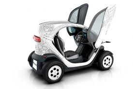 Renault Twizy with doors open