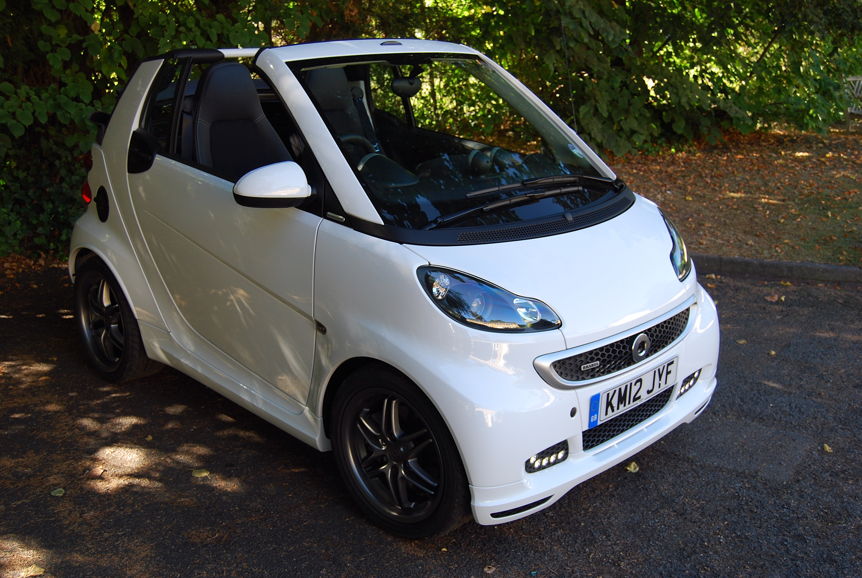 smart fortwo brabus cabrio review driving torque. Black Bedroom Furniture Sets. Home Design Ideas