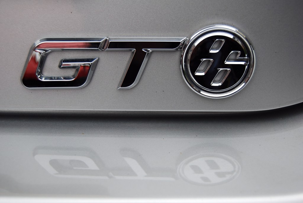 Toyota GT86 rear badge