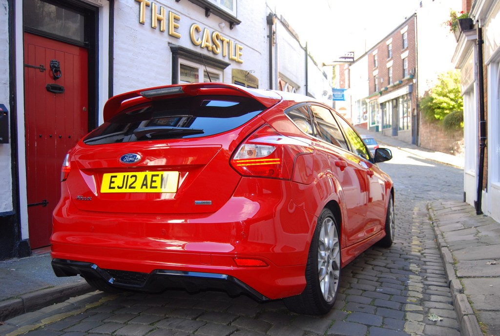 2013 Ford Focus Ecoboost Rear
