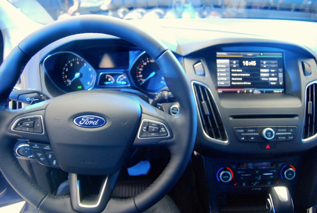 2014 Ford Focus Cabin