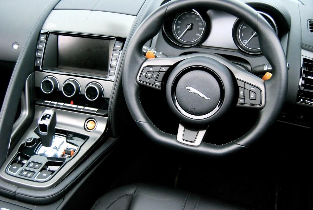 jaguar f-type s interior
