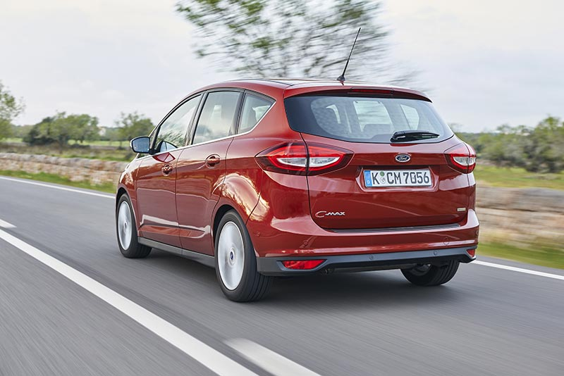 New Ford C-MAX rear red