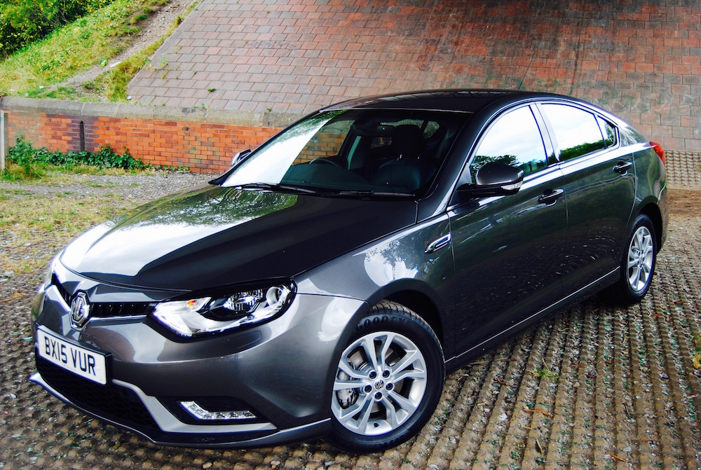mg6 grey front and side