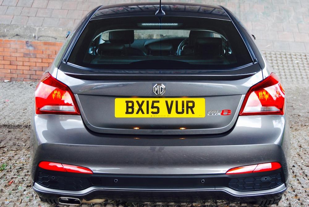 mg6 grey rear
