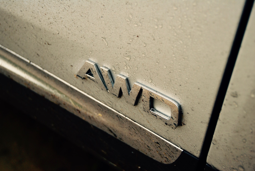 KIA Sorento AWD badge