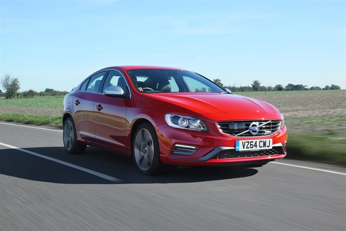 volvo s60 r-design red front