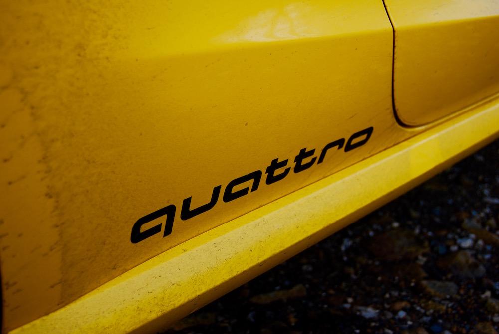 Audi S1 Vegas Yellow black quattro
