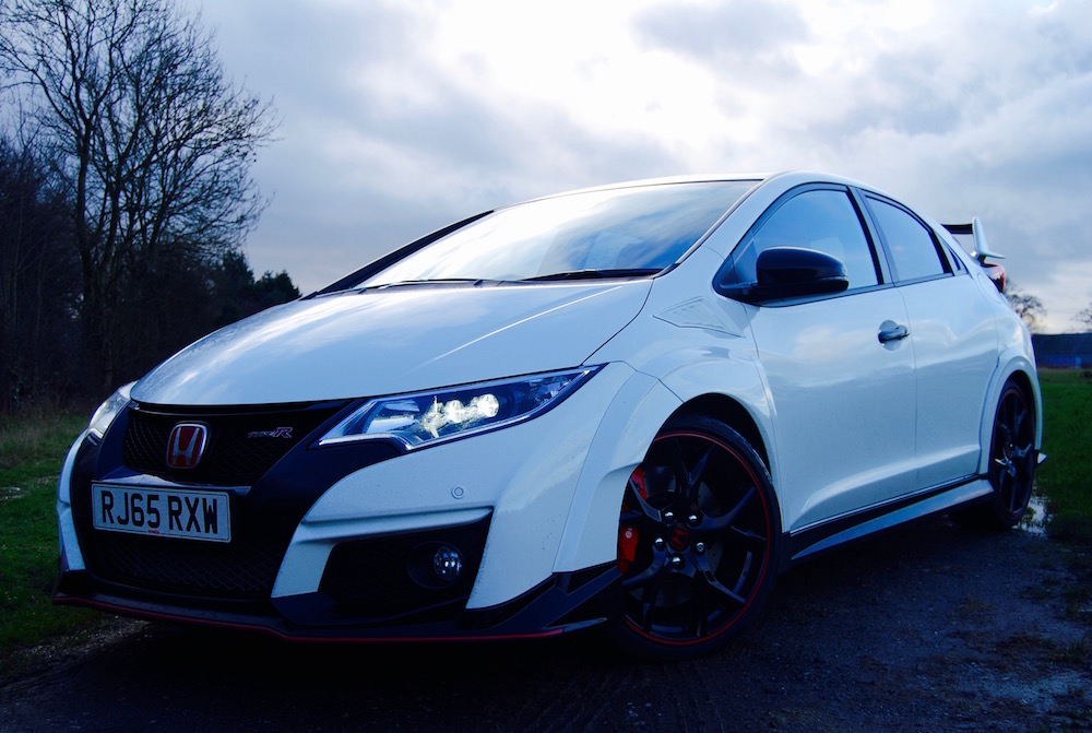Civic Type R Championship white front