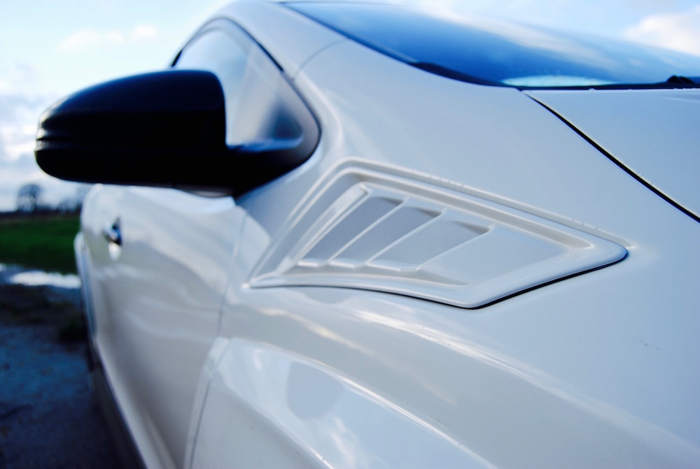 Civic Type R front wing vent