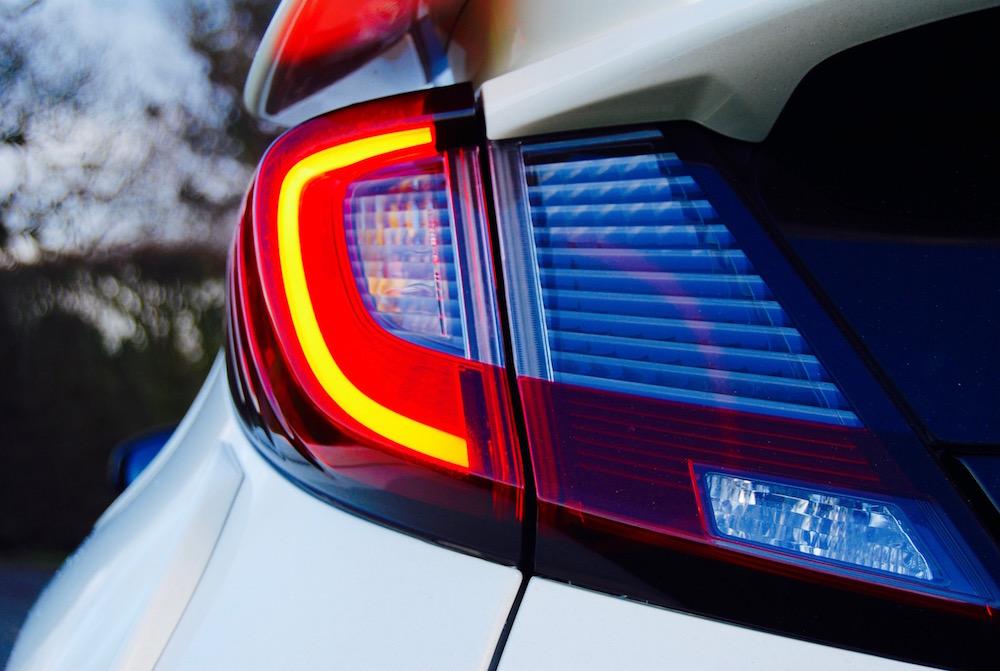 Civic Type R rear light