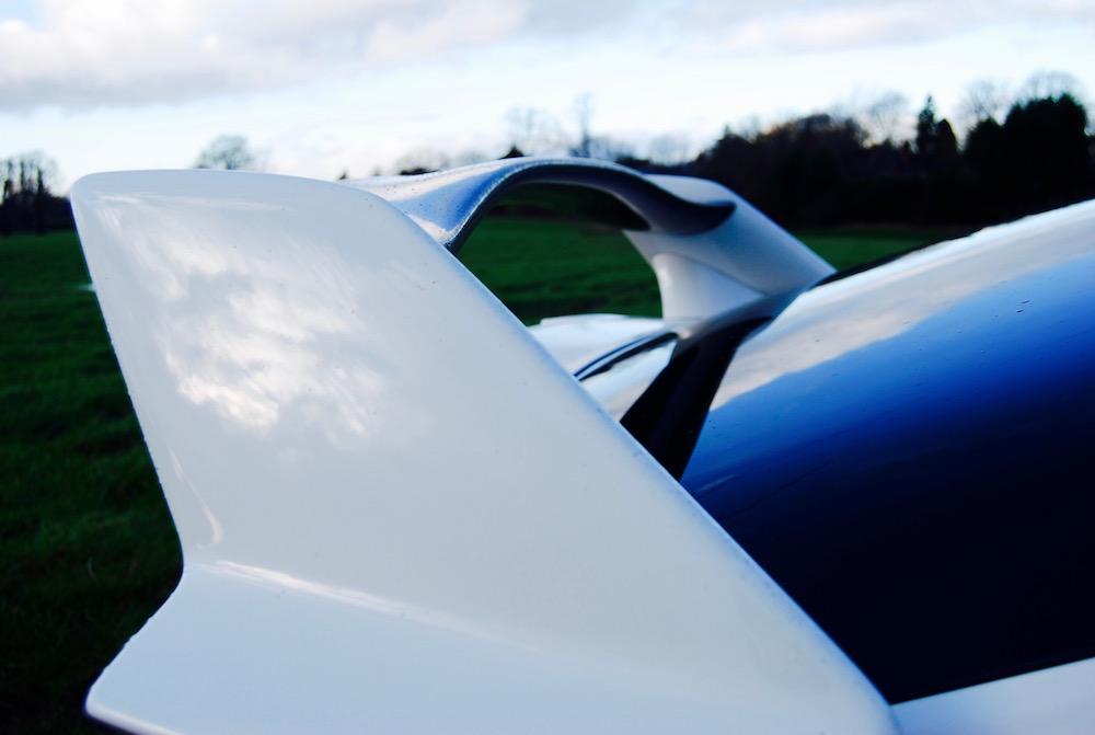 Civic Type R rear spoiler wing