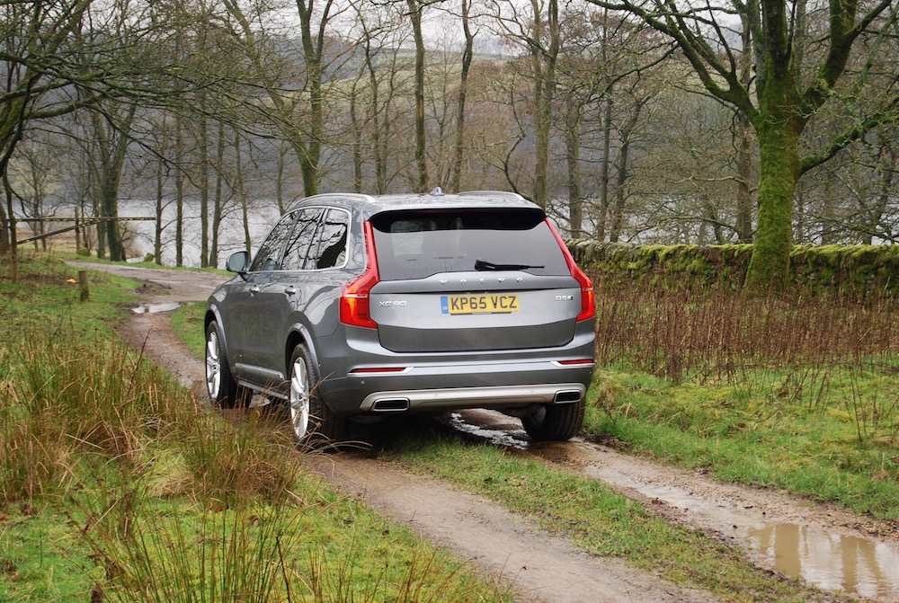 volvo xc90 rear grey