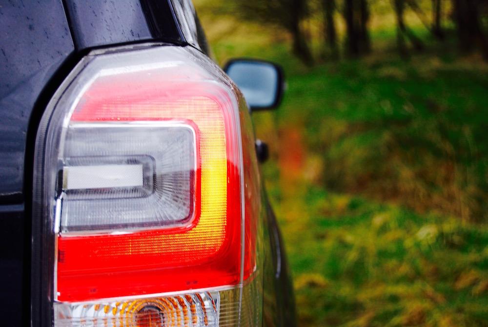 subaru forester xt rear light
