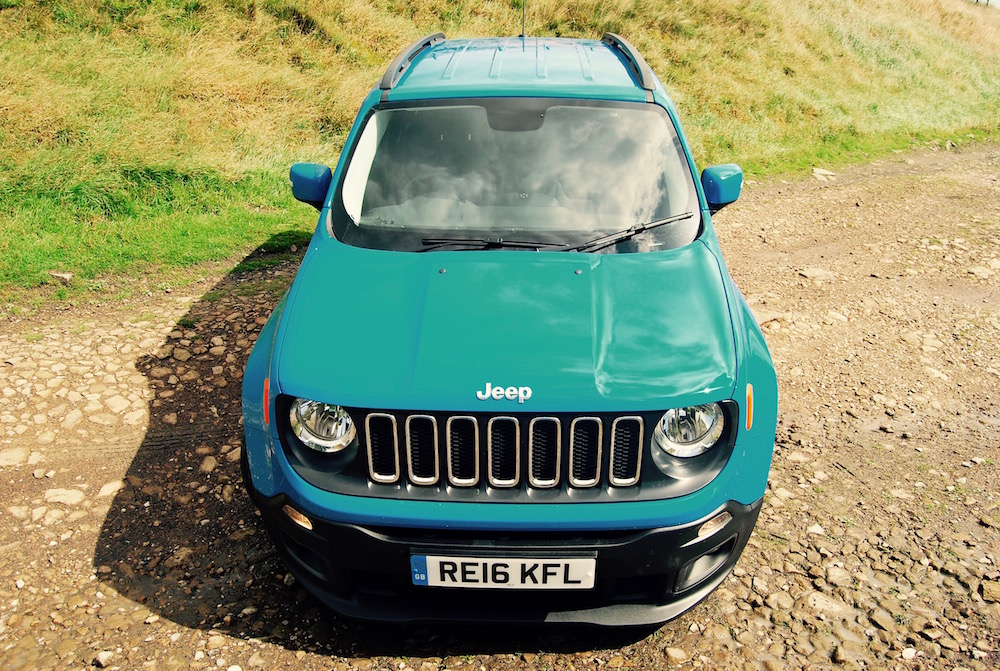 jeep renegade blue front review