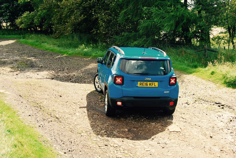 jeep renegade blue rear review