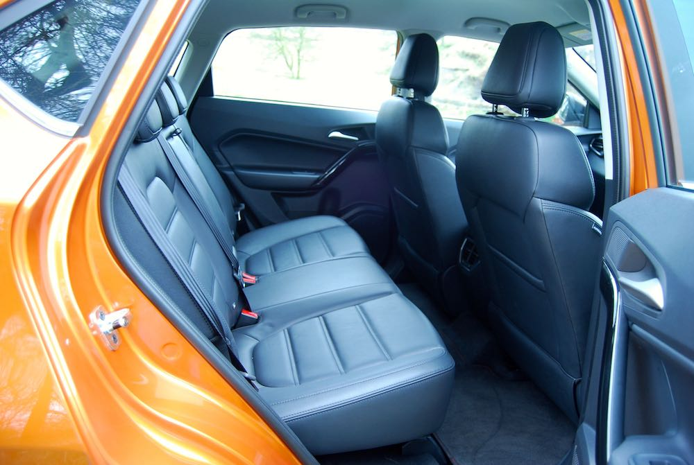 MG GS rear seats