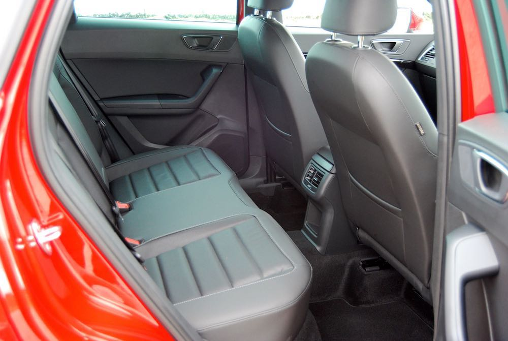 seat ateca rear seats