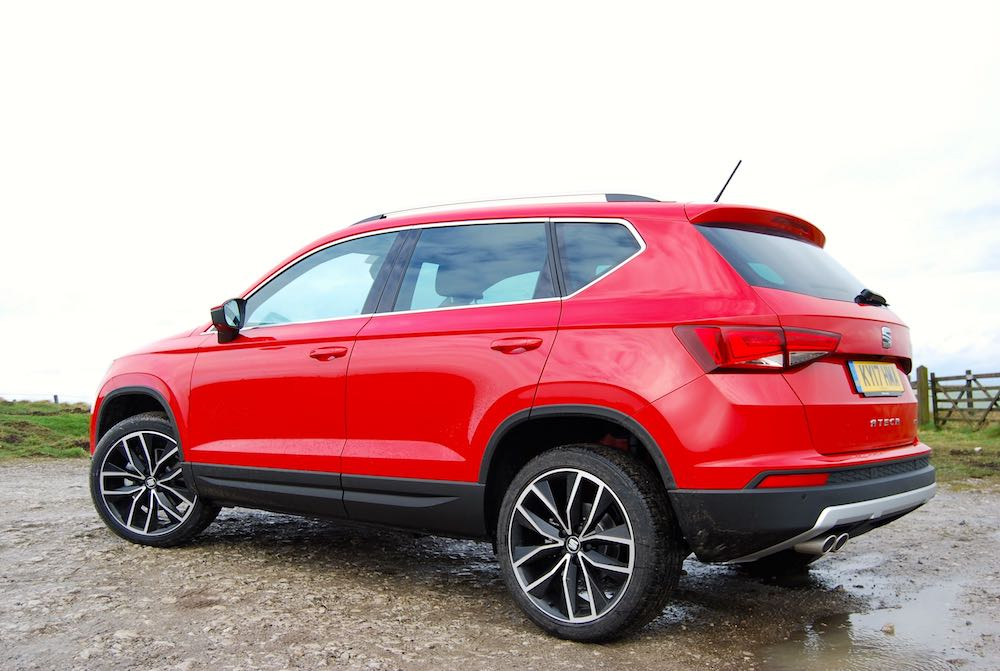 seat ateca side rear
