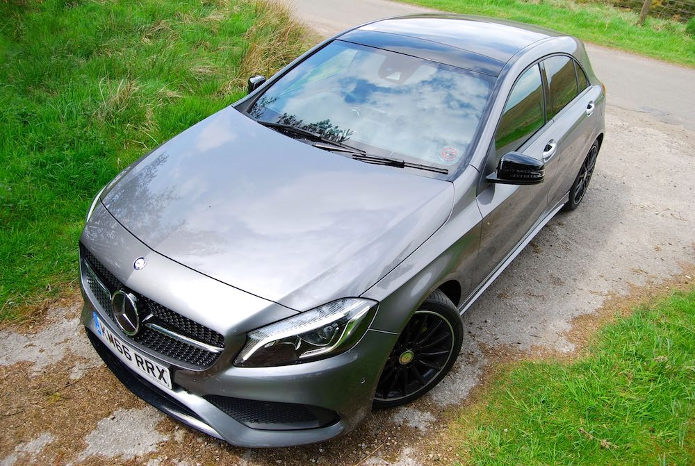 Mercedes A 220 d grey high