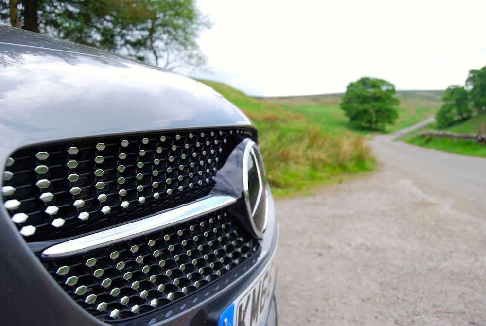 Mercedes A 220 d grille