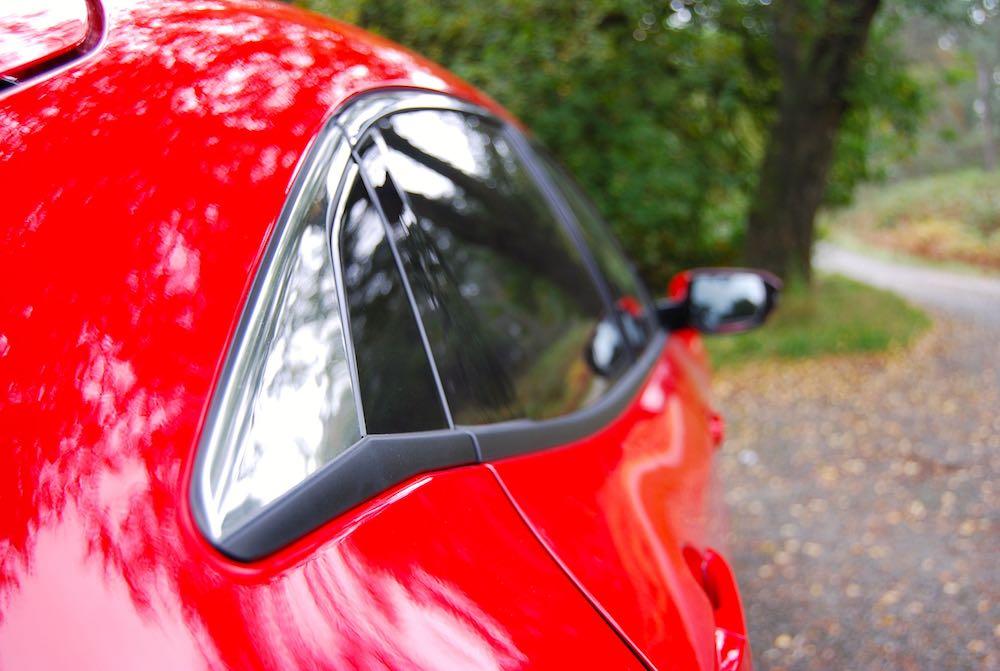 Honda Civic rear side window