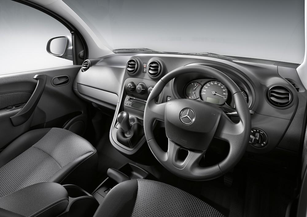 Mercedes benz citan tourer dashboard