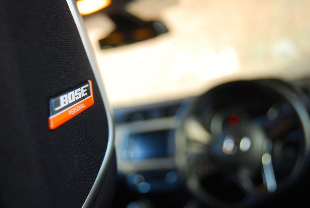 Nissan Micra Bose headrest speaker