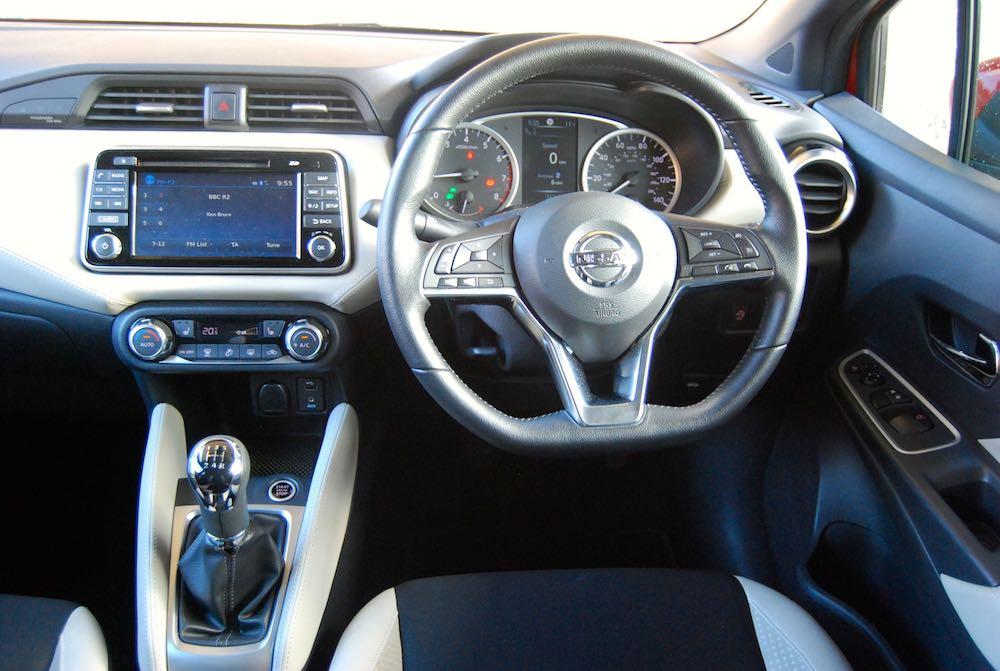 Nissan Micra interior - Driving Torque