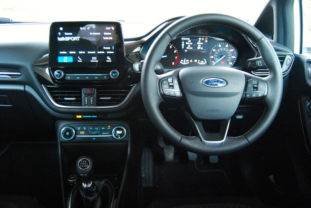 new ford fiesta cabin dashboard