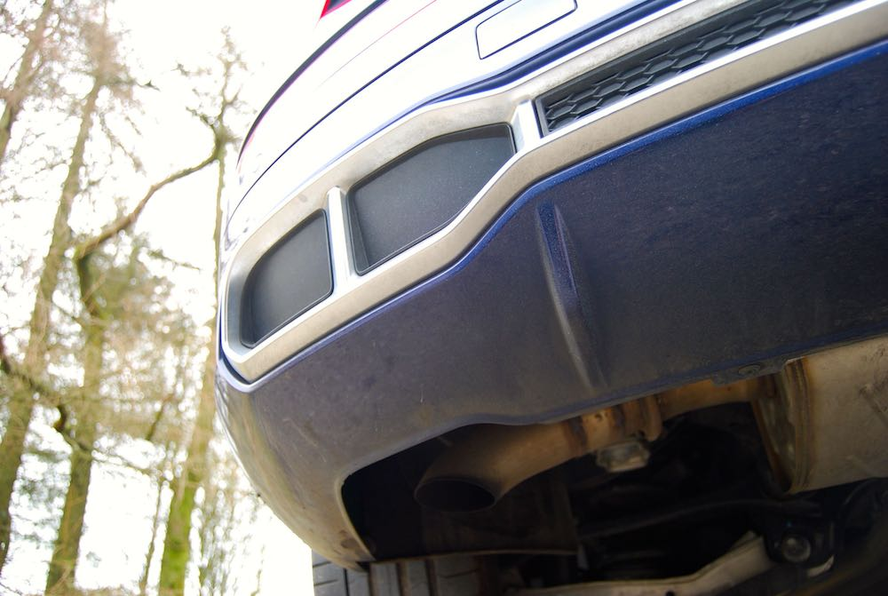 audi sq5 exhaust