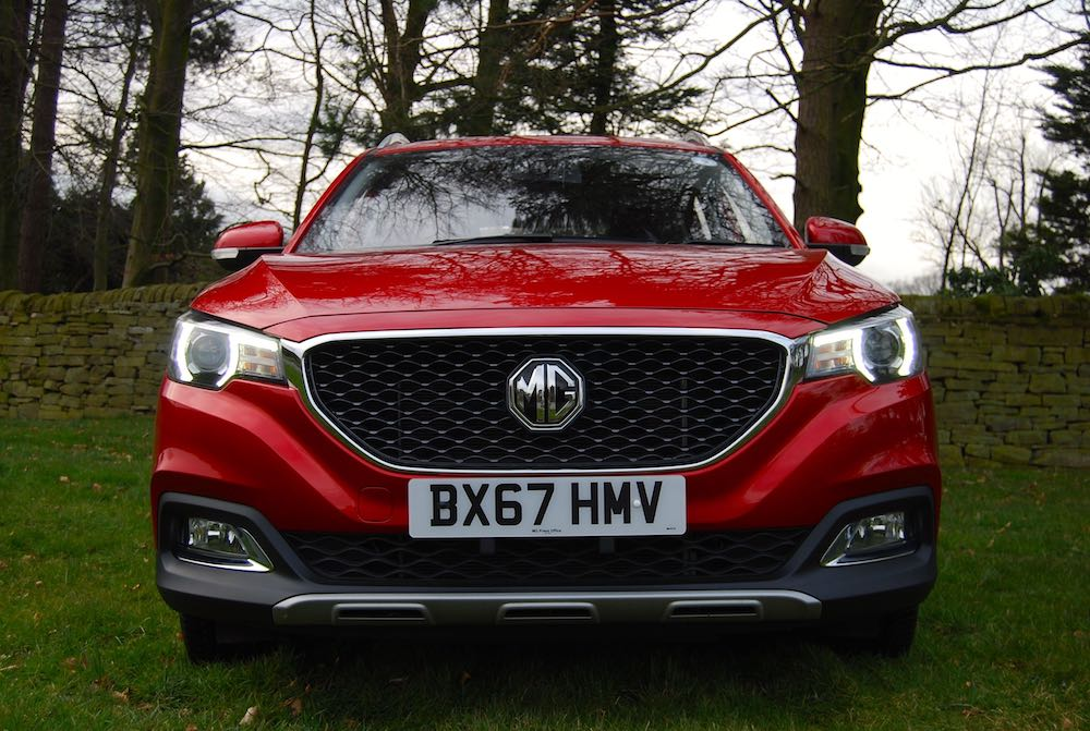 mg zs front red