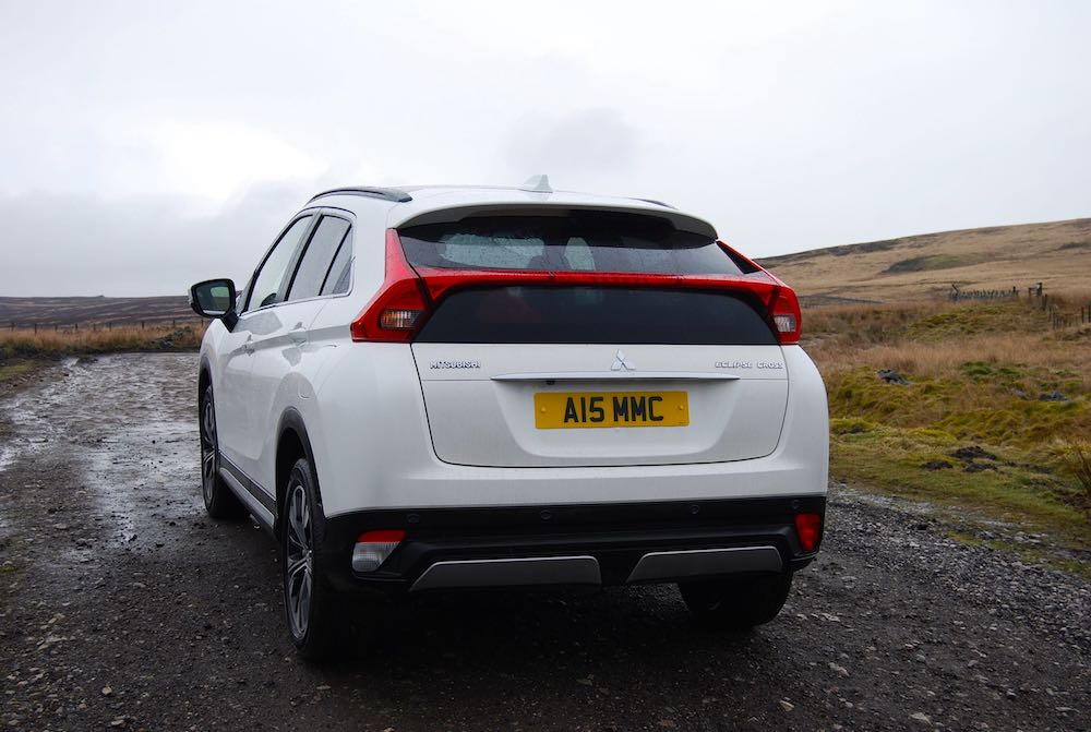 Mitsubishi Eclipse Cross rear white