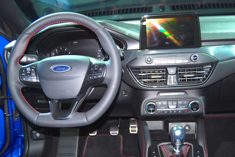 all new ford focus dashboard