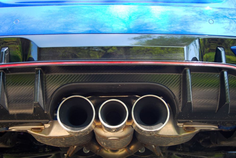 civic type r exhaust