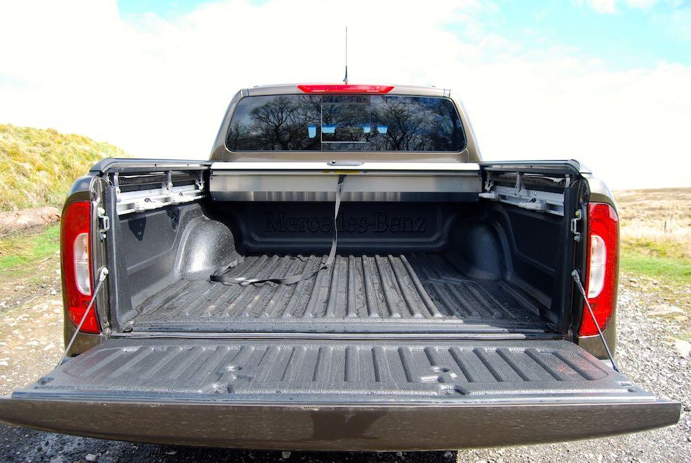 mercedes x-class load bed