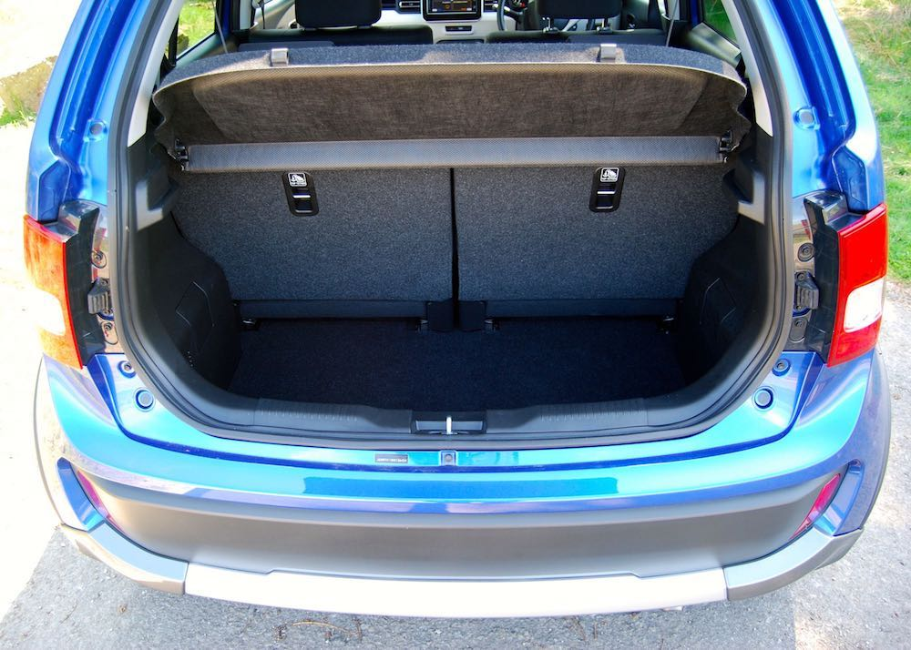 suzuki ignis adventure boot trunk