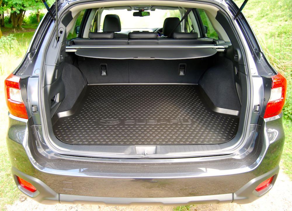Subaru Outback boot