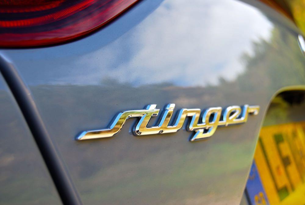 kia stinger badge review roadtest